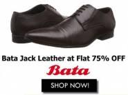 Flat 75% Off - Bata Men