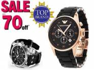 Top Branded Watches - Min.50% -70% off + Extra 20% cashback