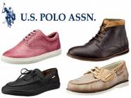 U.S. Polo Assn. Men's Footwear Flat 75% off From Rs. 774
