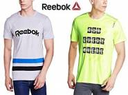 Reebok Clothing 60% off or more from Rs. 360 + FREE SHIPPING