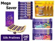 Mega Offers Inside:- Cadbury Dairy Milk Silk Pralines, 240g at Rs. 479