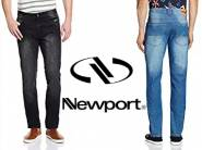 Budget Buy:- Newport Jeans at Flat Rs. 399 + Rs. 75 Cashback + FREE Shipping