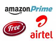 Airtel Offers Free Amazon Prime Subscription to Its Users [ Check Inside ]