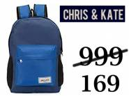 Chris & Kate School Bag at Flat Rs. 199 Only + Extra 15% Cashback