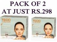 VLCC Combo Offers : Platinum Facial Kit (Pack of 2) at Just Rs.298 [MRP-700]