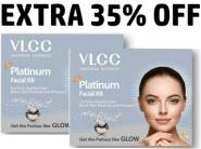 Good Discount - Platinum Facial Kit (Pack of 2) at Rs.295 [MRP Rs. 700]