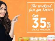 Top Selling Products:- Flat 35% off on Entire VLCC Range + FREE Shipping