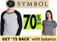 Flat 70% Off : Symbols Entire Range starts from Rs.149[More Offer Inside]