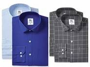 Extra 10% Cashback :- EX by Excalibur Formal Shirt [Pack of 2] at 60% OFF