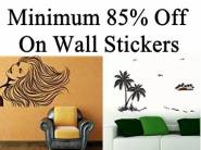 Minimum 85% Off on Wall Decals starts from Rs.67
