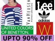 Top 5 Brands Adidas, Lee, W Women
