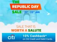 Live Now: Republic Day Sale Upto 80% Off at Wide Categories + Extra Disocunts