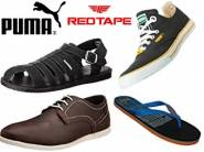 Get Flat 70% OFF on Redtape & PUMA Footwear