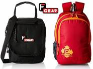 F-Gear Bags at Flat 50 to 72% Off + Extra Rs. 75 Cashback From Rs. 181