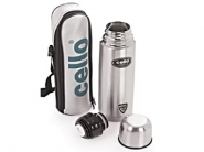 Lowest Now : Cello Stainless Steel Fliptop Flask, 750ml at Rs. 499