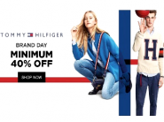 Rare Discount : Min.40% Off on Tommy Hilfiger starts from Rs.400