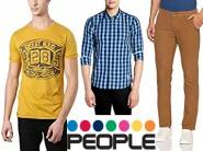 Get People Clothing 50% or more from Rs. 149 + Extra Rs.75 Cashback