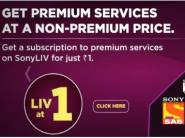 SonyLiv Coupons and Offers: Upto 50% OFF Packages, Verified 10 min ago