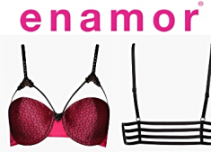 Big Discount - ENAMOR Womens Non-padded Multi Strap Bra 88% Off