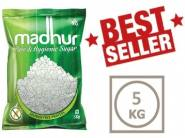 All Pincodes - Madhur Pure Sugar, 5kg Bag at Lowest Price [Deals Added]