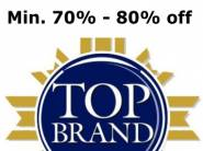 New Offers Added: Top Brands at Min. 70% - 80% off + Free Shipping