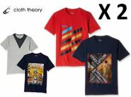 Must Buy:- Cloth Theory T-Shirt (Pack of 2) at 60% off + Rs. 75 Cashback
