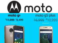 [Last Day] Moto G5s Plus (Lunar Grey, 64GB) at Rs.13999 + Exchange Offer