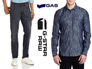 Premium Brands - GAS, G-Star, Replay, Gant, Nautica Flat 70% Off