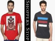 Flat 80% Off On Life, RS, Stop By Shoppersstop T- shirt + FREE Shipping
