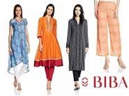 Get Minimum 70% Off on BIBA Women