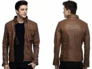 ATC PU Leather Full Sleeve Jacket For Men at Just Rs. 469