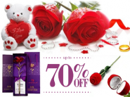 Rose day - Express Your Love with Exciting Gifts at Upto 70% Off