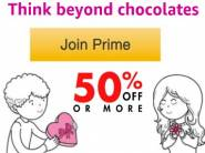 Prime Insider:- Chocolates, Apparel, Gifts & more + Rs. 300 Cashback