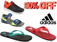 Official Discount:- ADIDAS Footwear at Minimum 50% off + Free Shipping