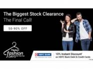 Biggest Stock Clearance - Clothing Flat 50-90% Off + Extra 10% Off