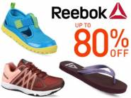 Official Discount:- REEBOK Footwear Range at Upto 80% off + FREE Shipping