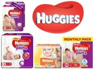 Best Seller:- Min. 35% off on Huggies Entire Diaper Range + Free Shipping