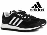Adidas Boys & Girls Lace (Black) at Flat 76% OFF