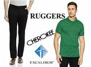 Grab Fast - Upto 80% Off On Ruggers ,Cherokee & Excalibur