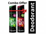 10% Coupon - Set Wet Perfume, 120ml (Pack of 2) At Just Rs.198
