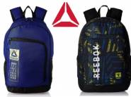 New Styles Added - Reebok Backpacks Minimum 65-75% Off From Rs. 404