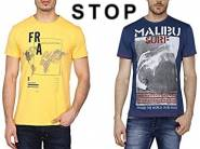 Stop Mens Tshirts at Flat 70% OFF From Rs. 156 ( More Tshirts Inside )