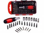 Visko VT9904 Ratchet Handle Screw Driver Set 31 Pieces at Flat 85% OFF