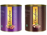 Chocofarm chocolate coated Pista and Almonds at 58% off