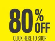 Flipkart Minimum 80% Off Store - Top Categories at Big Discount