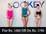 Big Offer - Jockey Bra, Panties & More Flat Rs. 1000 Off On Rs. 1790