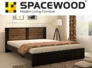 Spacewood Joy Queen Size Bed at Flat 66% Off