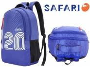 Extra 50 Cashback : Safari 27 Ltrs Blue Casual Backpack at Flat 73% OFF