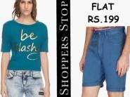 Buy Anything at Flat Rs.199 [Jeans, T-shirts, Kurtas & More]
