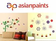 Asian Paints Wall Sticker at Flat 83% OFF Starts from Rs. 99
